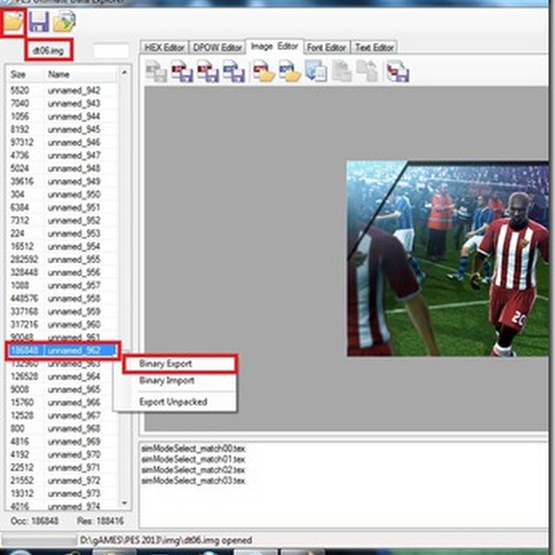 Cara Mengganti Background Menu PES 2013