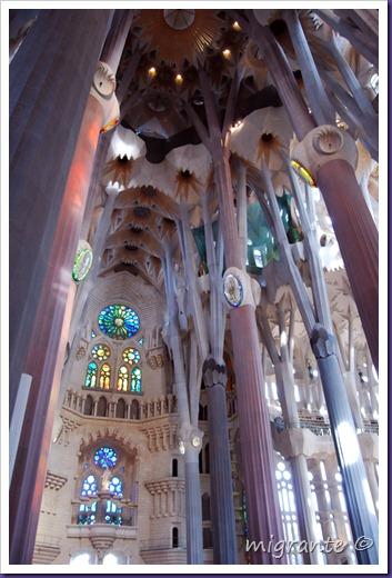 vestigios góticos  - sagrada familia
