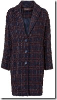 Phase Eight Textured Plaid Coat