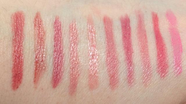 My Top 10 Pink Lipsticks