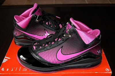 nike air max lebron 7 pe breast cancer black 2 01 Throwback Thursday: Nike LeBron VII Box Out Breast Cancer PE
