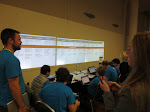 The virtual unconference board at TransparencyCamp