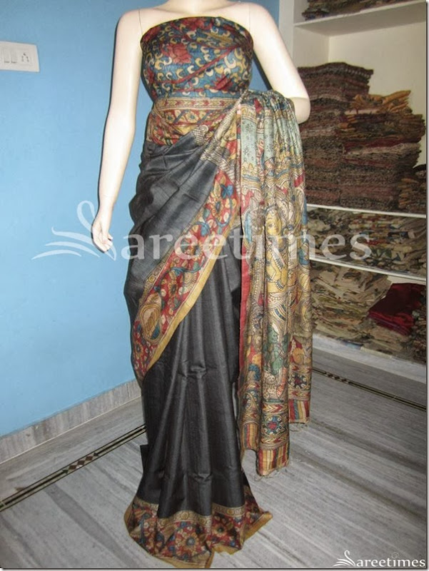 Embellished_Kalamkari_Work_Saree(1)
