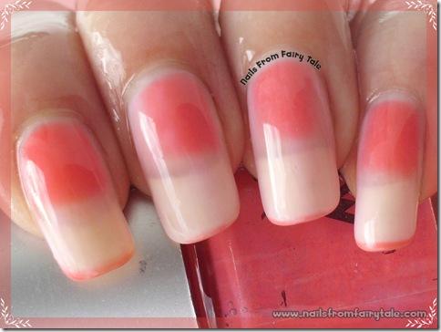 ylin mood nail polish - pink red hot