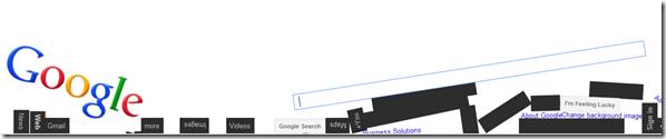 google sin gravedad