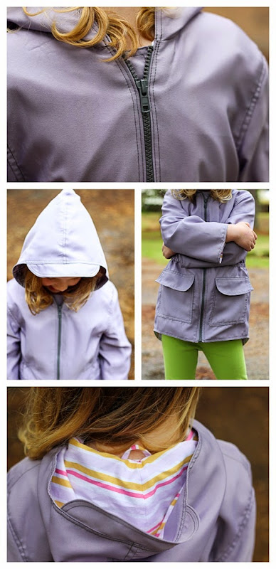Spring Showers Jacket details
