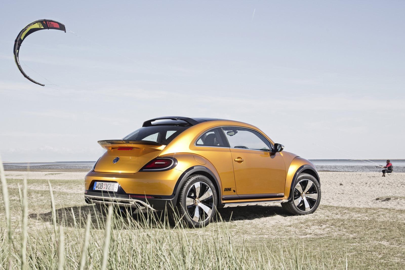 Внедорожное купе Volkswagen Beetle Dune Concept