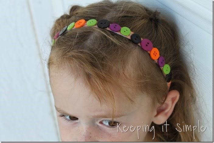 Halloween headband with bottlecap spider (11)