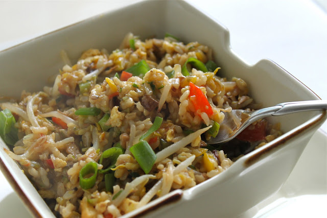 Loaded {Summer Vegetable} Fried Rice