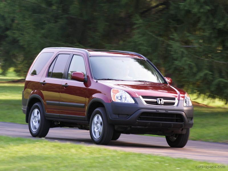 2003 honda cr v suv specifications pictures prices. Black Bedroom Furniture Sets. Home Design Ideas