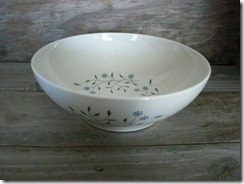 blue mist carefree true china vegetable bowl