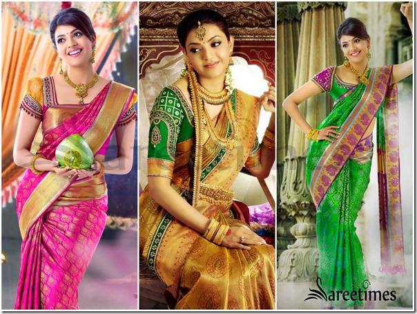 Kajal_Agarwal_Silk_Sarees_Collection