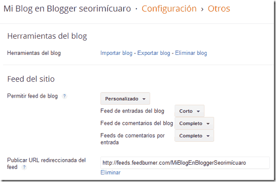 Feed eb blogger