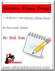 Narrative Writing Prompt to walk your students through the writing process by Raki's Rad Resources