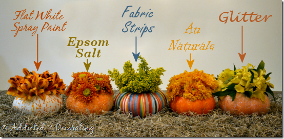 miniature pumpkin vases 3