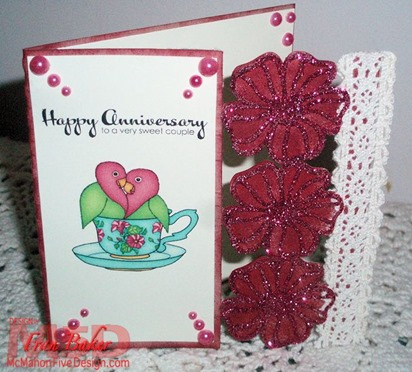 Anniversary Card Front View