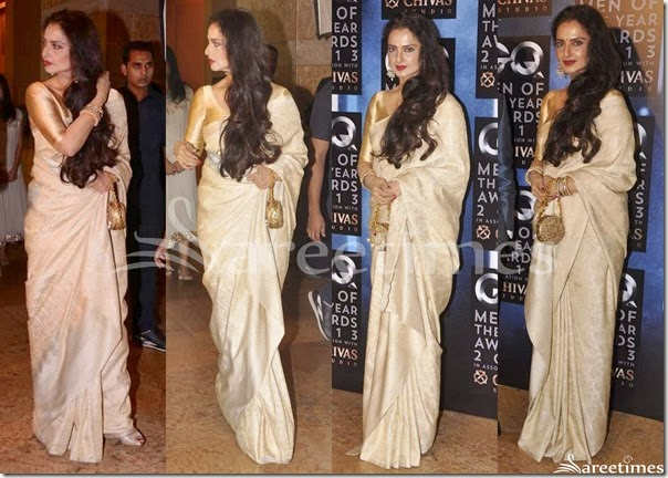 Rekha_Cream_Bridal_Silk_Saree