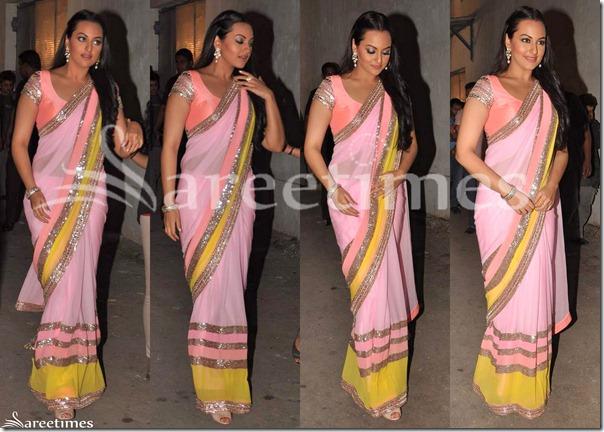 Sonakshi_Sinha_Pink_Saree