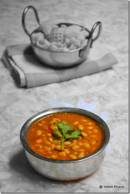 Easy soya bean kurma recipe