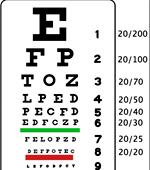 [eye exam chart]