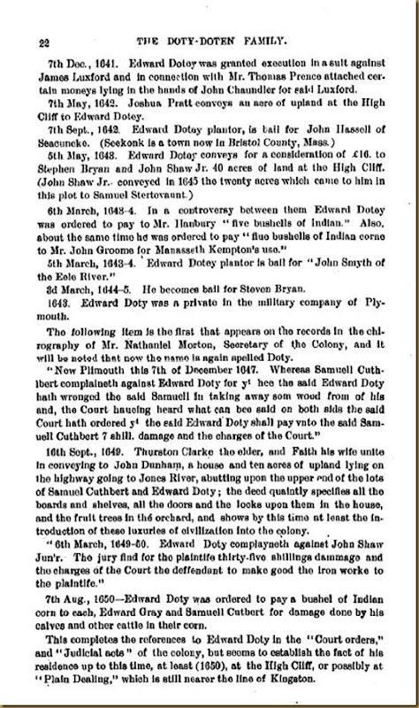 Doty-Doten Family In America - The Family of Edward Doty (17)