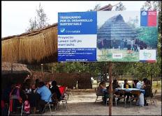"""LLellipún da pie inicial a proyecto mapuche """"Remedio para la gente de la ciudad"""""""