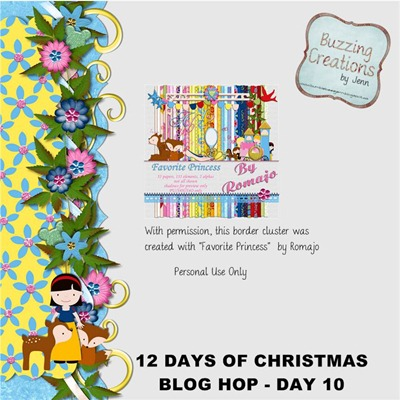 Romajo - 12 Days of Christmas - Day 10 Preview