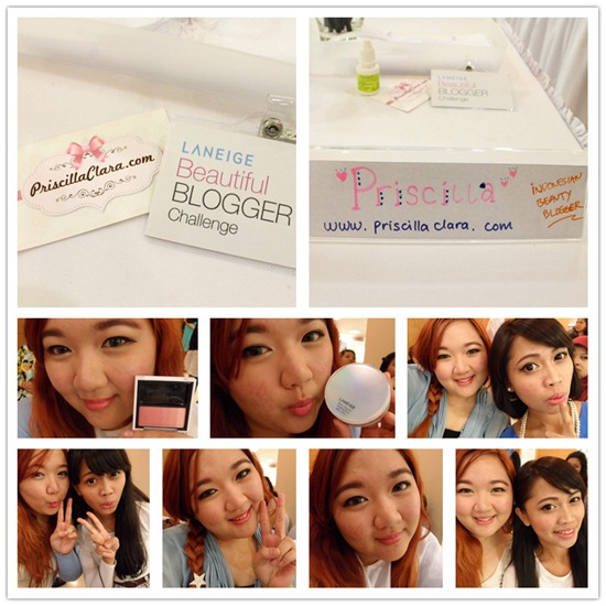 Priscilla Laneige Beauty Blogger Challenge Indonesia