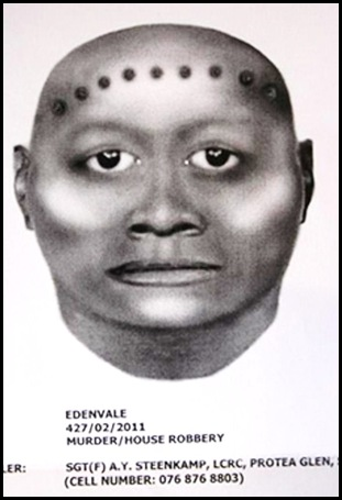 EDENVALE wanted for double murders of Phillip Jackson, Dillyn Elsley double-murders Feb 23 2011 EDENVALE