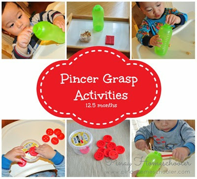 Development of Pincer Grasp Pincer Grasp Activities For