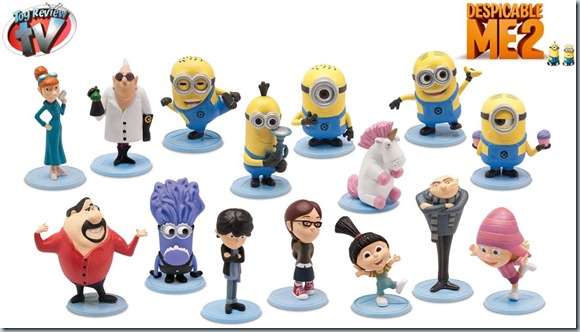 Despicable Me 2 figures