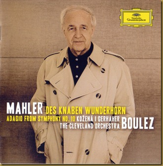Mahler Wunderhorn Boulez Cleveland CD