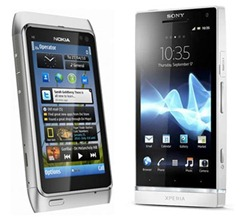 Comparación video cámaras: Nokia N8 vs Sony Xperia S