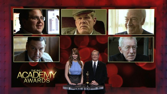 Best Supporting Actors Nominated in Oscars 2012