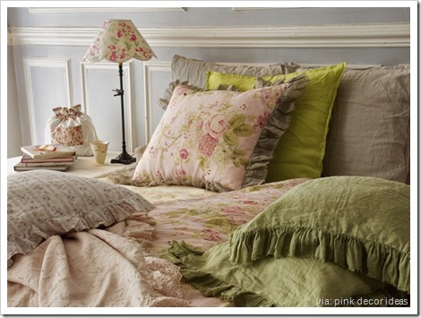 chartreuse-bedroom-decorating-pink-d