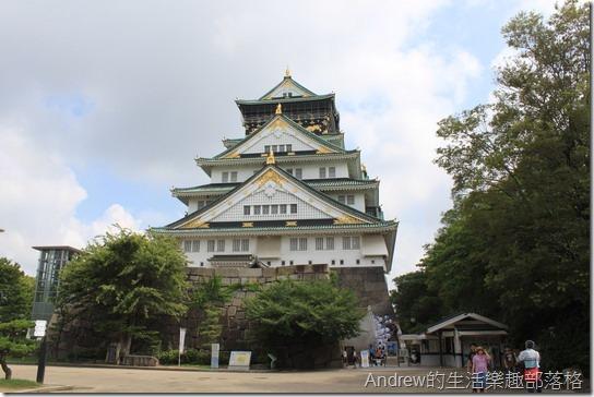 日本大阪城-天守閣