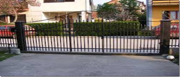 Metalne ograde i kapije izrada