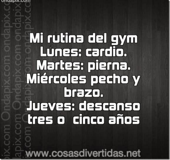 rutina gym humor 1