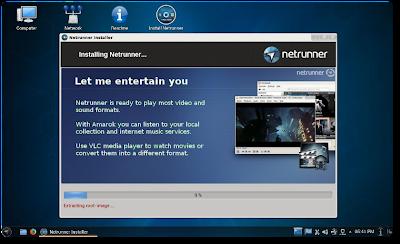 Netrunner Manjaro Linux