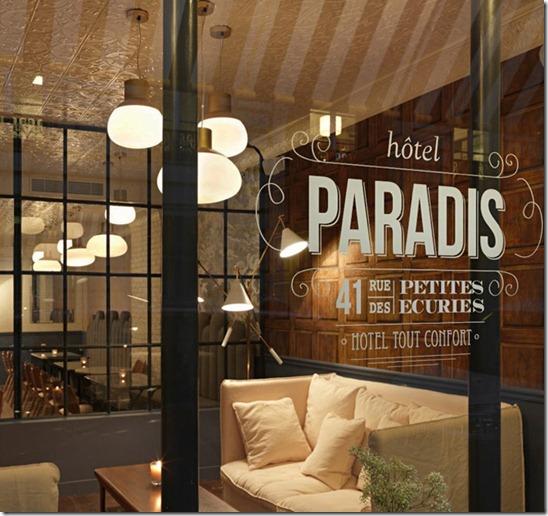 Hotel Paradis, Paris, France