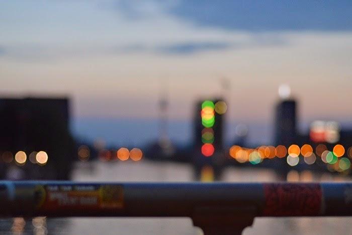 Sunset Spree blurred focus