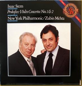 Prokofiev concierto violin 1 Stern Mehta