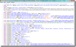 Pagesource HTML