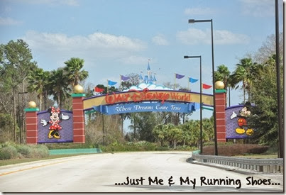 Disney World Welcome Sign