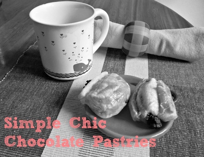 Simple Chic QUICK Chocolate Pastries! | http://www.jellibeanjournals.com/simple-chic-quick-chocolate-pastries/