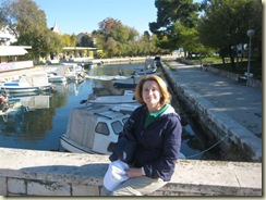Ellen on Trogir Bridge (Small)