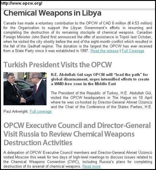 CHEMICAL WEAPONS TWO