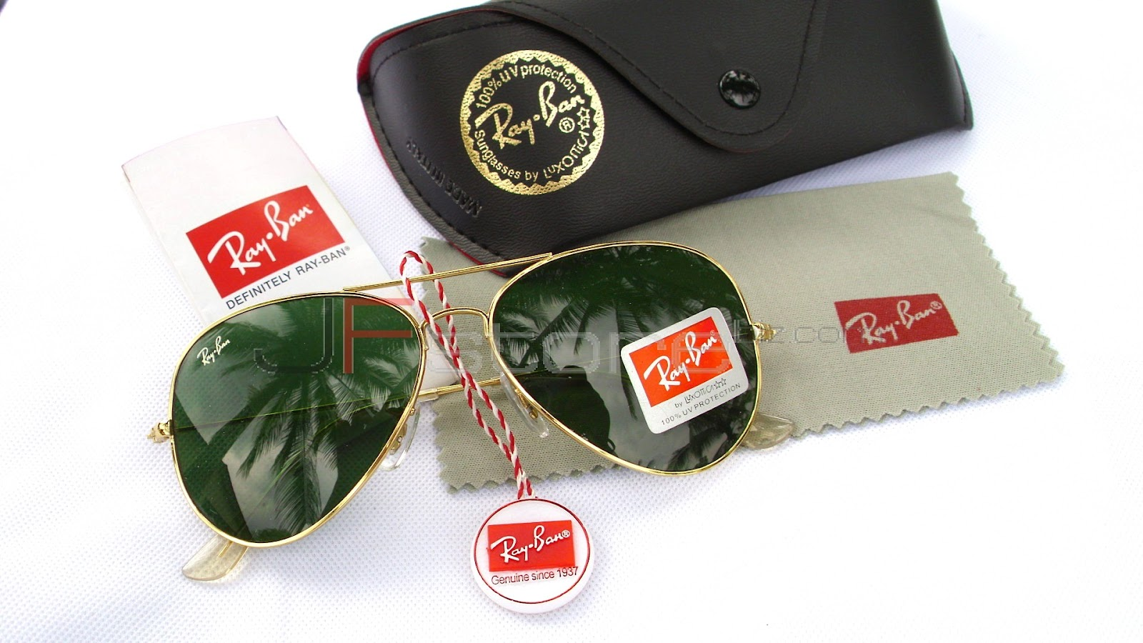 ray ban aviator green gold  Review of Sunglasses: Ray-Ban Aviator RB3025: Expert Review ,Price ...