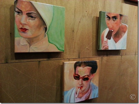 Linette Cajou, peintures...