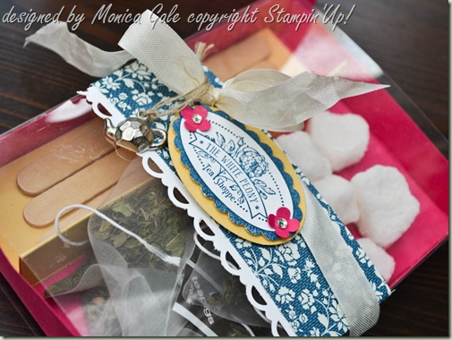 Stampin'Up! Tea Shoppe gift box_